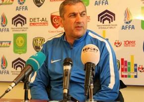"""Yunis Hüseynov: """"Bu gün qol imkanlarımız Neftçidən daha çox idi"""""""