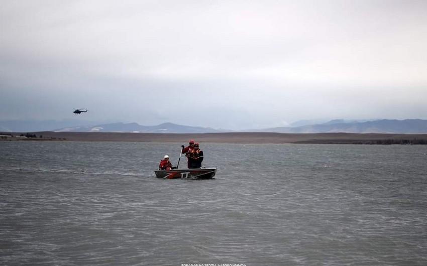 Azərbaycan-Gürcüstan sərhədində yerləşən göldə itən balıqçıların axtarışları nəticə verməyib