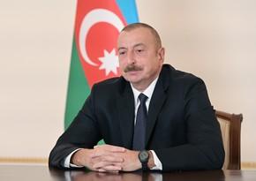 Ильхам Алиев назвал условия прекращения военных действий