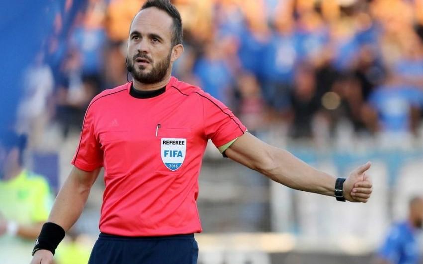 Определены арбитры матча Азербайджан - Фарерские острова