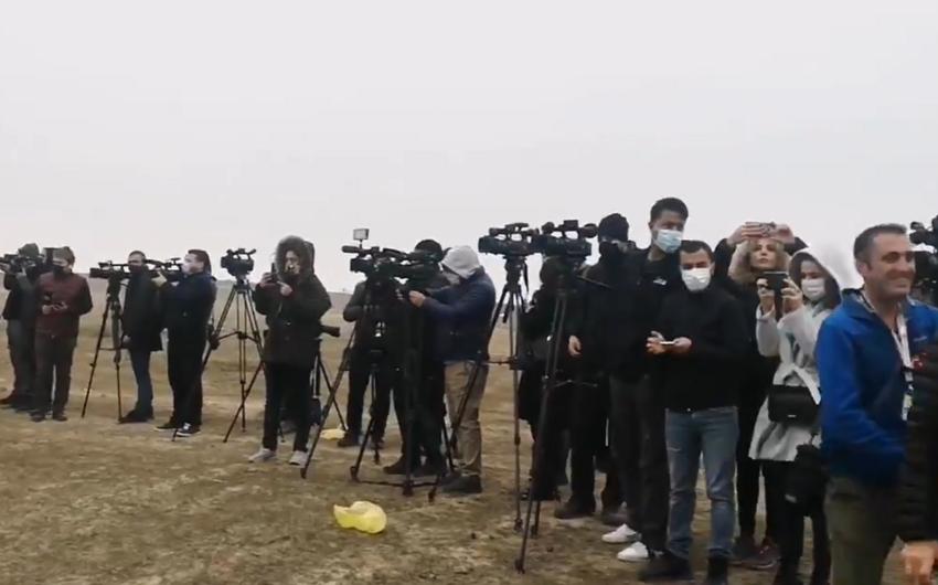 Beynəlxalq jurnalistlər Füzulidədir