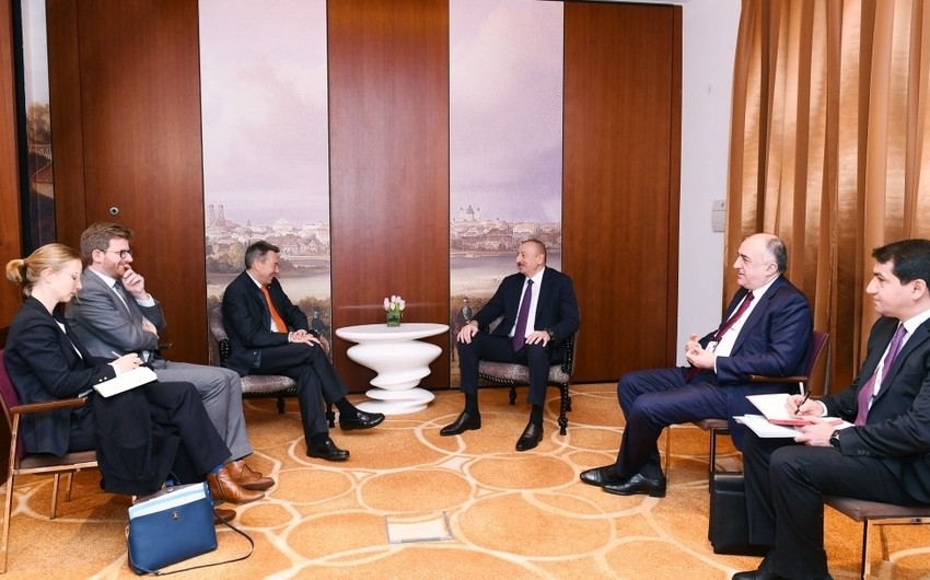 President meets with head of International Committee of Red Cross