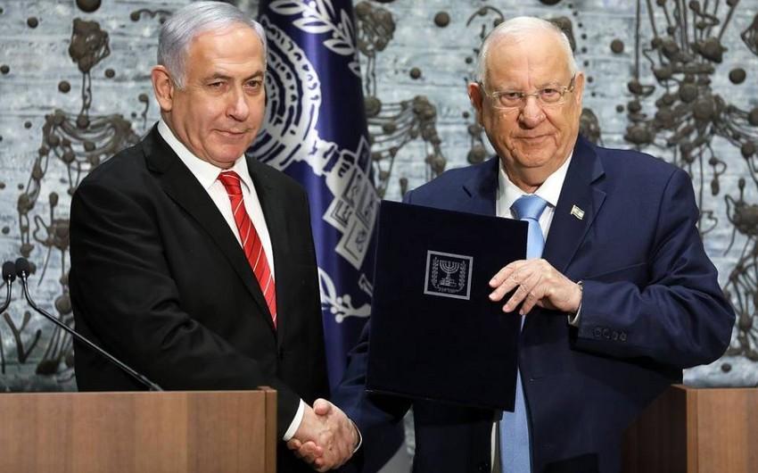 İsrail prezidenti Netanyahuya hökuməti formalaşdırmağı tapşırıb