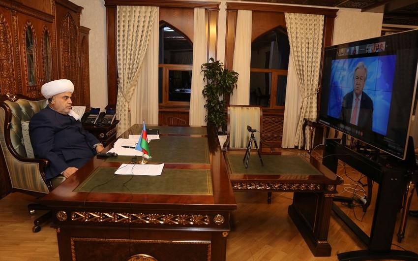 QMİ sədri BMT-nin Sivilizasiyalar Alyansının tədbirində iştirak edib