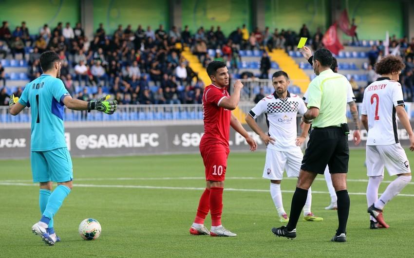 Keşlənin futbolçusunun cəzası azaldılıb, Zirənin cəriməsi ləğv edilib
