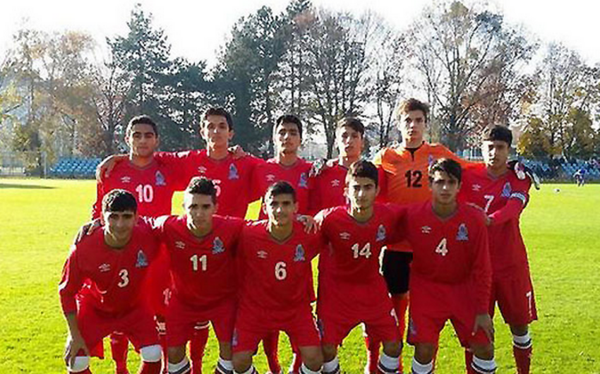 Azərbaycanın U-16 komandası yoldaşlıq oyununda qalib gəlib