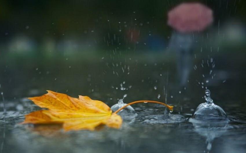 Sabah Azərbaycanda leysan xarakterli intensiv yağış yağacaq