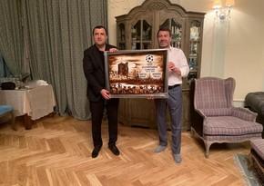 Президенты Нефтчи и Динамо провели встречу
