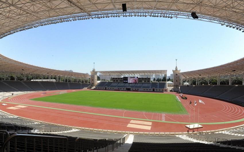 Azərbaycan - Almaniya oyunu Respublika Stadionunda keçirilə bilər