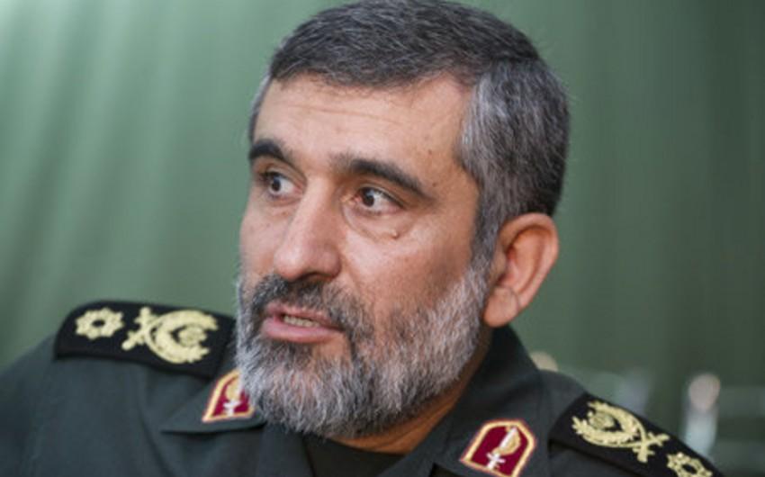 İranlı general: Ballistik raket proqramından əl çəkməyəcəyik
