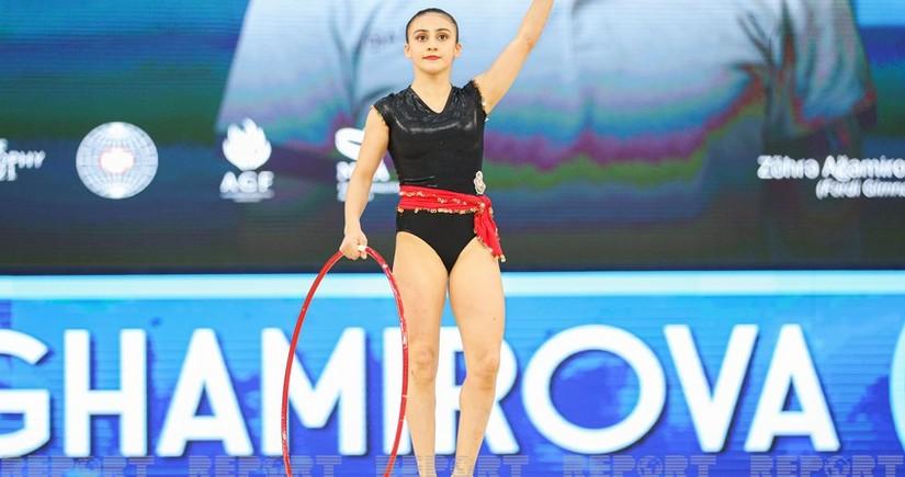 Avropa çempionatı: İki gimnastımız çıxışını başa vurdu