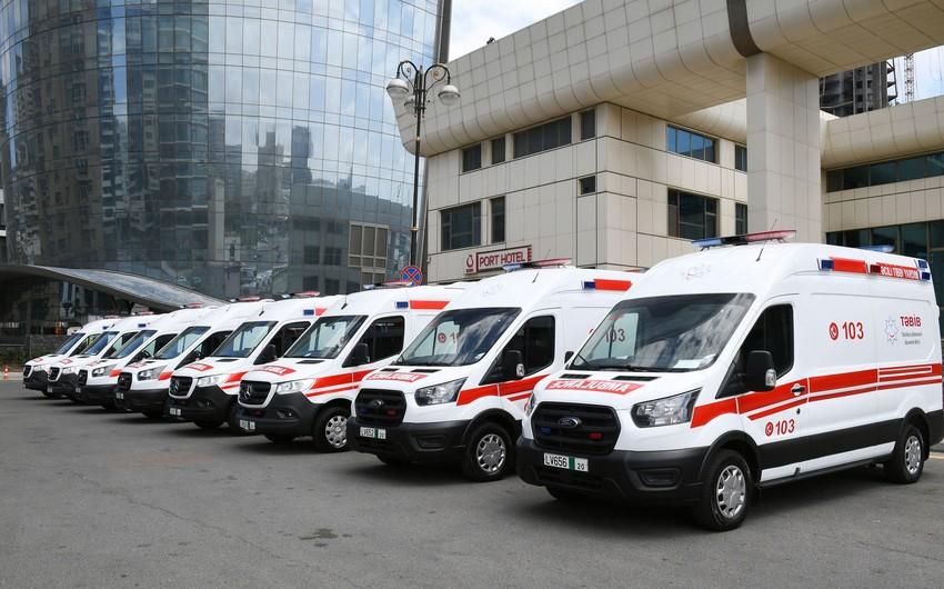 В этом году Азербайджан закупил 10 автомобилей скорой медицинской помощи