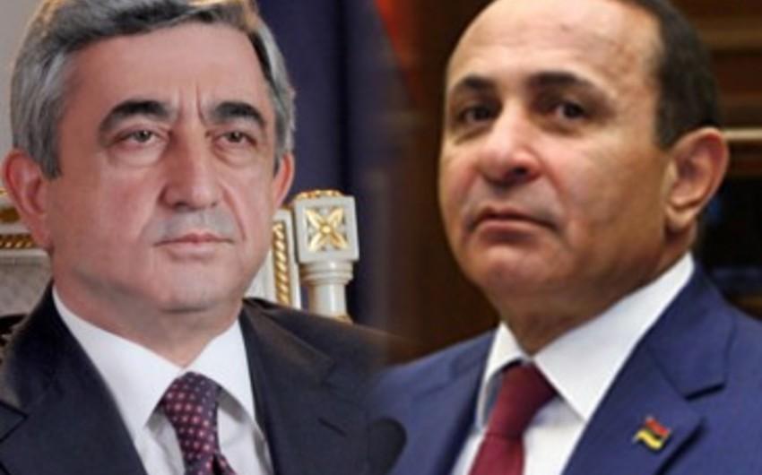 KİV: Ermənistan prezidenti ilə baş naziri arasında münasibətlər kəskinləşib