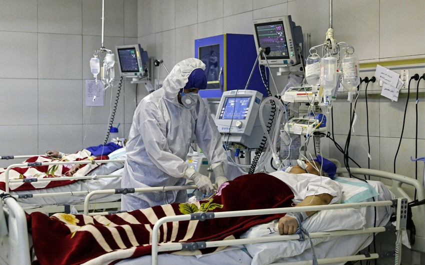 İranda koronavirus qurbanlarının sayı 14 mini ötdü