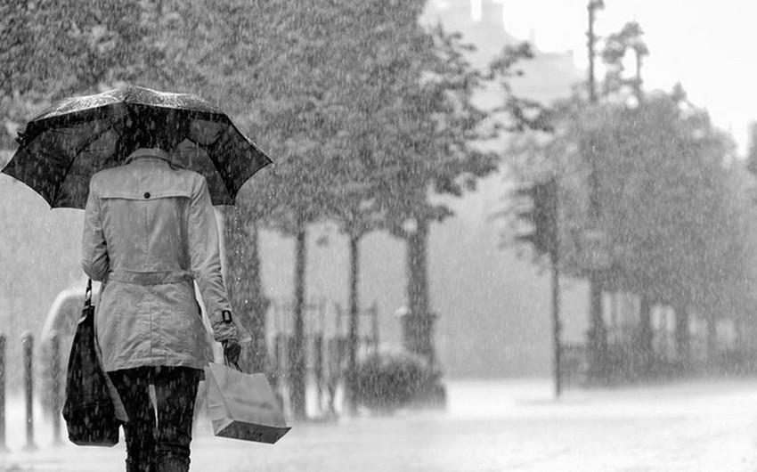 Hava şəraiti kəskin dəyişəcək yağış, sulu qar, qar yağacaq - XƏBƏRDARLIQ