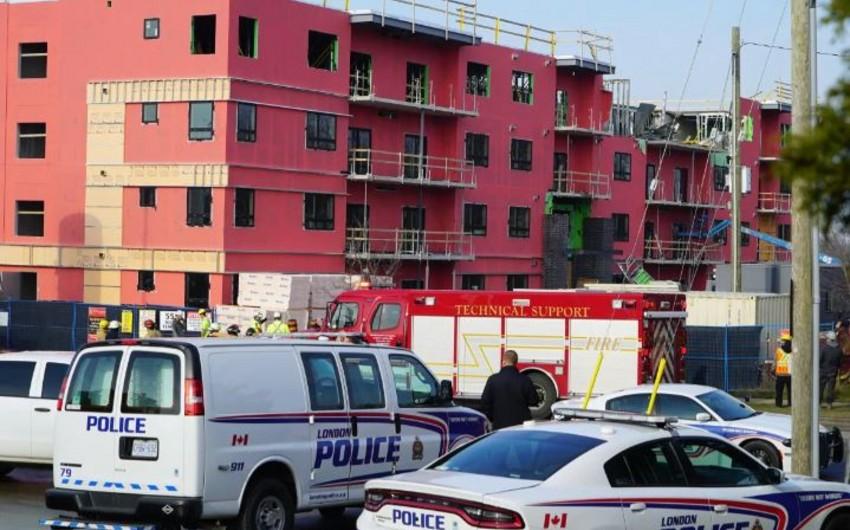 В Канаде обрушилось здание, есть погибший и раненые