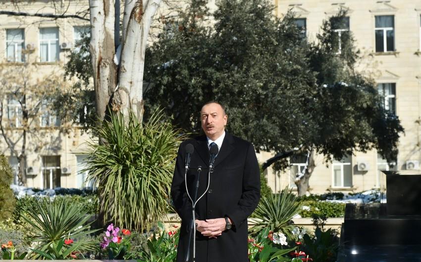 Президент Ильхам Алиев: В Азербайджане подрастает прекрасное молодое поколение