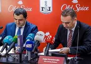 """""""Old Spice"""" və """"Neftçi"""" tərəfdaşlıq haqda müqavilə imzalayıb"""