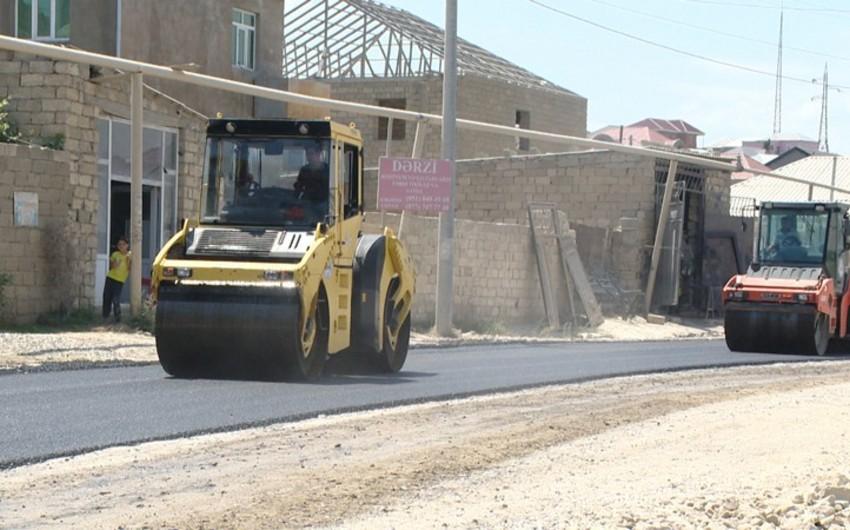 Hökməli-Qobu-Güzdək avtomobil yolu təmir olunur