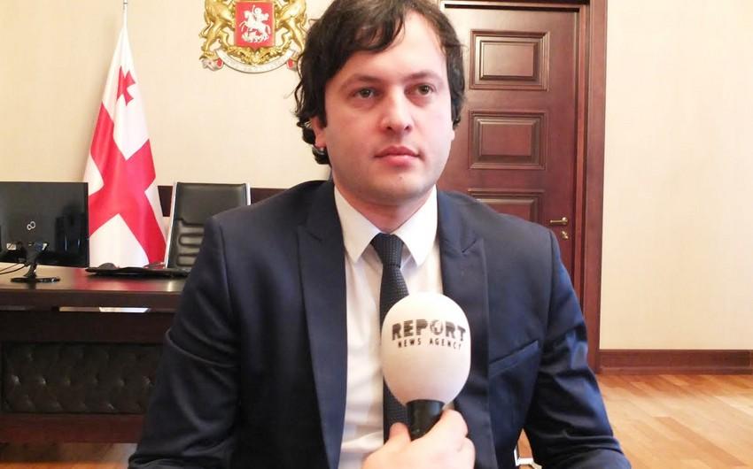 Gürcüstan parlamentinin sədri Azərbaycana səfər edəcək
