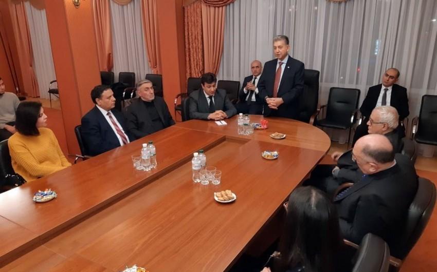 AMEA prezidenti Kiyevdə səfərdədir
