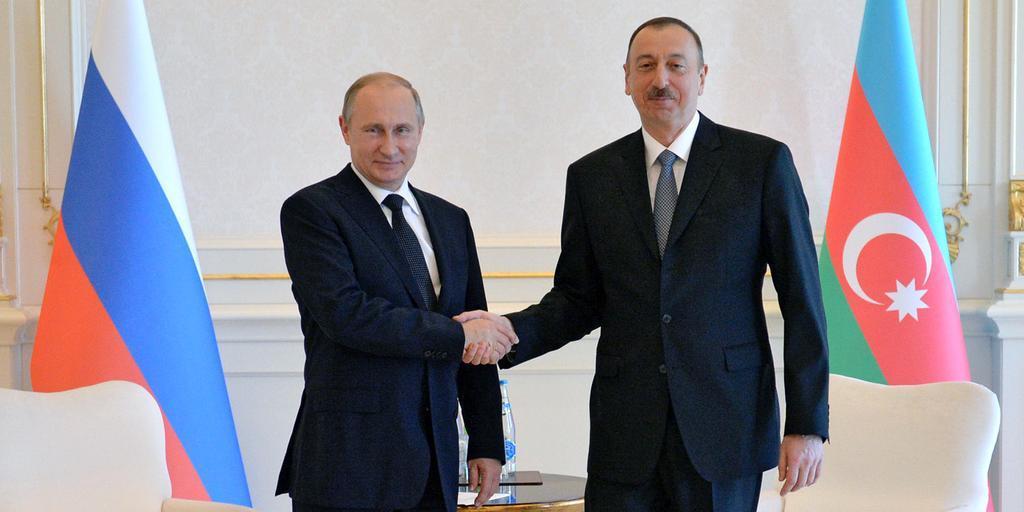 Владимир Путин поздравил Ильхама Алиева