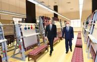"""Ilham Aliyev attends inauguration of Nakhchivan branch of """"Azerkhalcha"""" OJSC"""