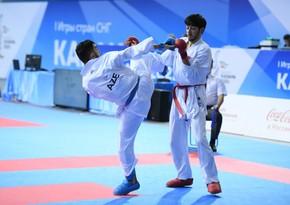 CIS Games: Azerbaijani karateka defeats his Armenian opponent