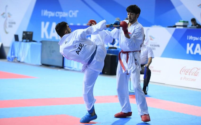 MDB Oyunları: Azərbaycanın daha bir karateçisi ermənini məğlub edib