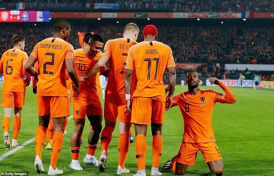 Нидерланды впервые за последние 10 лет обыграли Францию