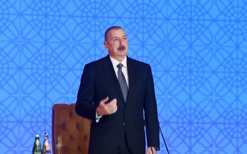 """Dövlət başçısı: """"Azərbaycanda iş görmək istəyən şirkətlərin sayı artır"""""""