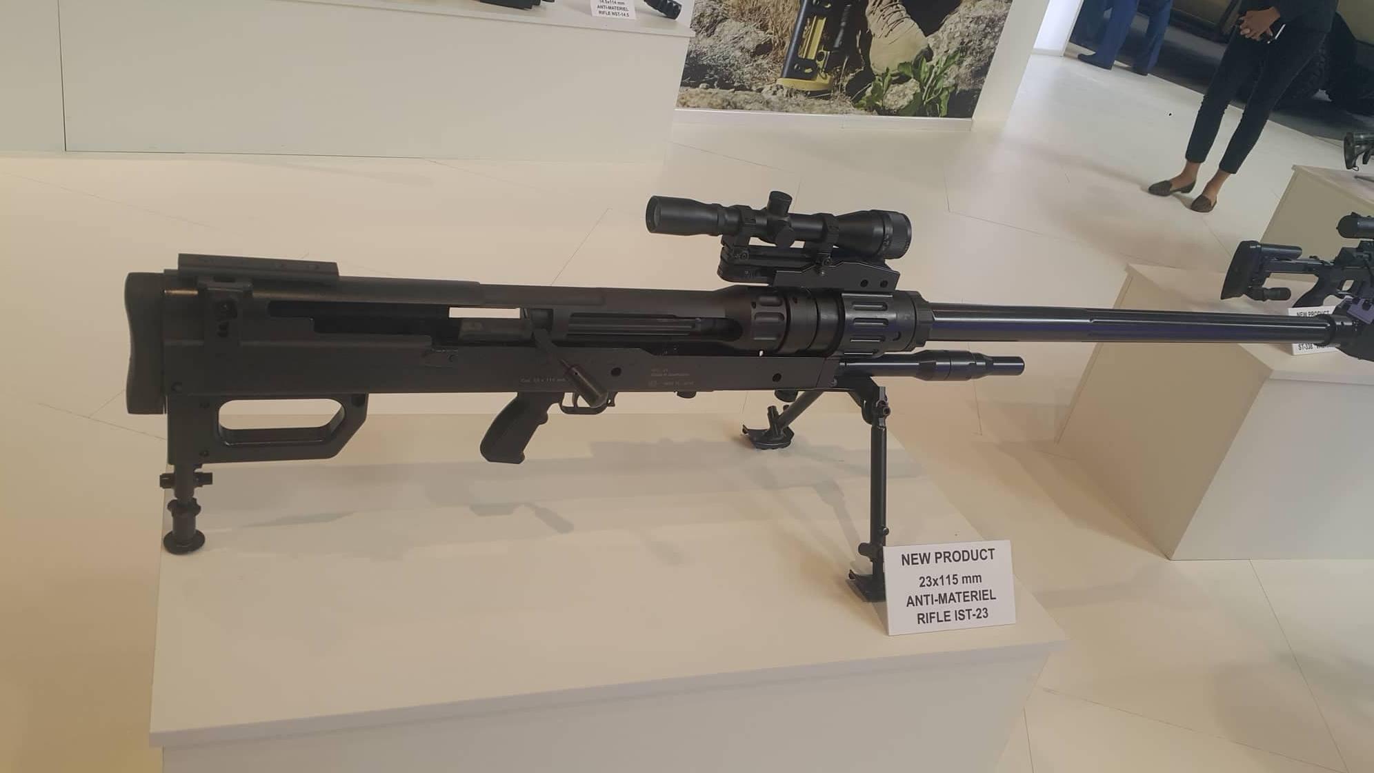 Azerbaijan produces new generation of sniper rifles- PHOTO