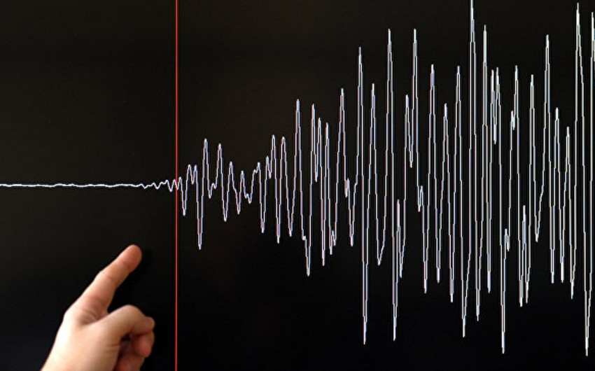 Землетрясение в Каспийском море
