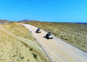 На Абшероне строят новую дорогу к вулканам