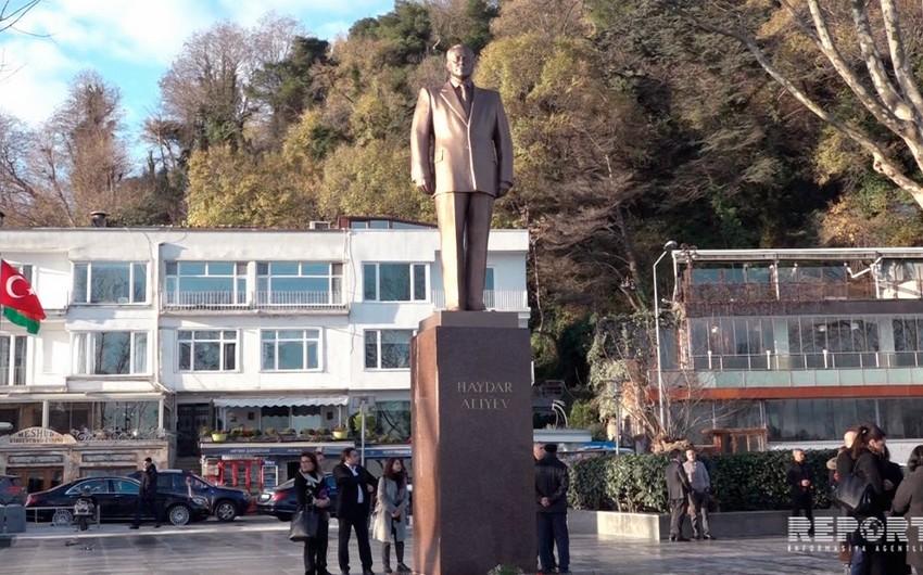 İstanbulda Heydər Əliyevin vəfatının 14-cü ildönümü ilə əlaqədar anım tədbiri keçirilib