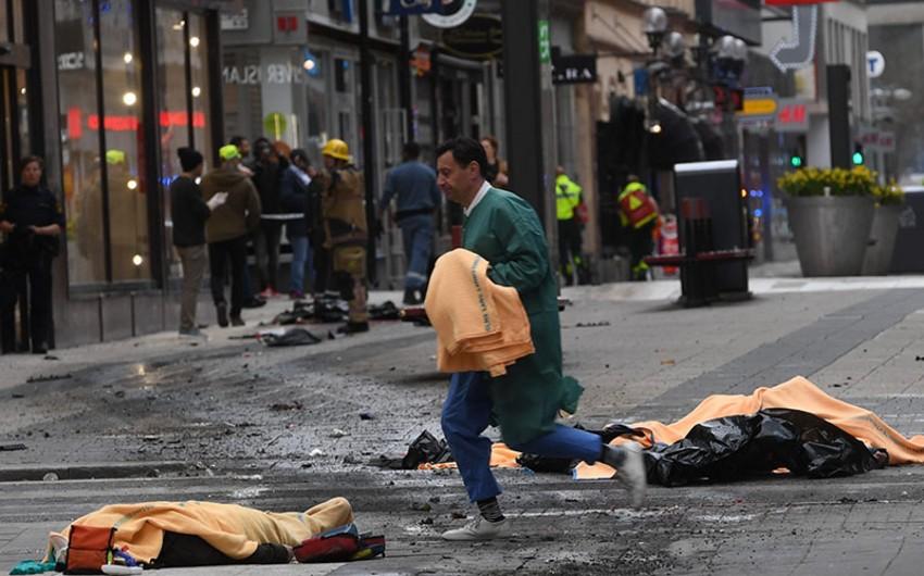 Stokholm terrorunda şübhəli bilinən ikinci şəxs saxlanılıb
