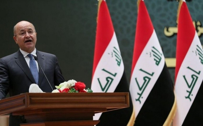 Iraqi President to visit Damascus for first time during Syrian conflict