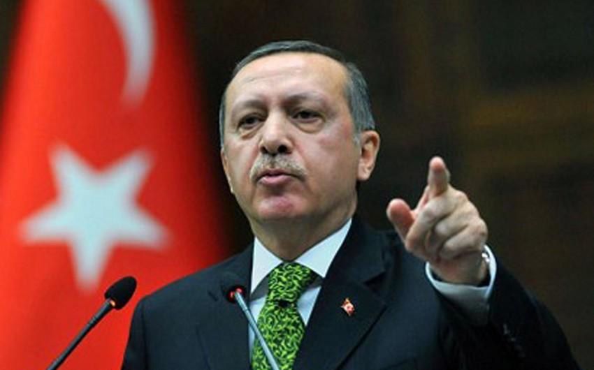 Türkiyə prezidenti: Almaniya yanlış oynayır