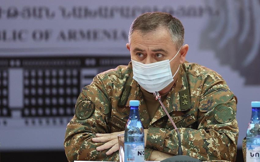 Начальника Генштаба Армении вызовут на допрос