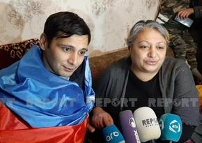 """Bayram Kərimovun anası: """"Prezident balamı qurtarıb mənə verdi"""""""