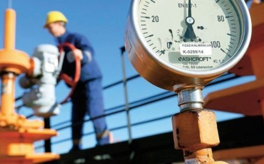 Добыча газа в Азербайджане в 2020 году достигнет 40,2 млрд кубометров