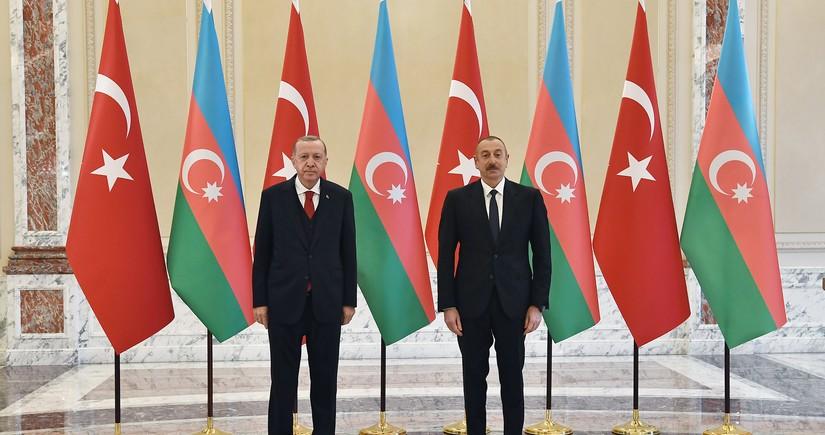 Prezident: Azərbaycan-Türkiyə münasibətləri hazırda özünün ən yüksək səviyyəsindədir