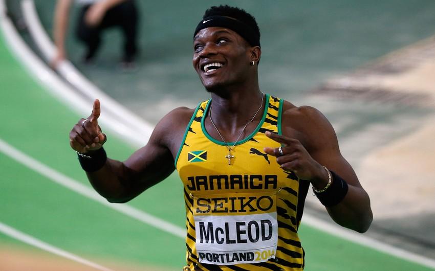 Rio-2016: Yamaykalı Ömər Makleod 110 m. məsafəyə maneəli qaçışda birinci olub