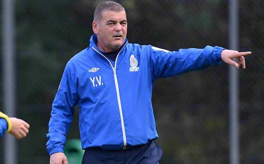 Главный тренер сборной Азербайджана по футболу U-21 отправлен в отставку