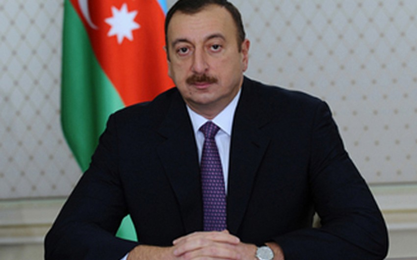 Azərbaycan Prezidenti Aleksandr Lukaşenkonu Belarus prezidenti seçilməsi münasibətilə təbrik edib