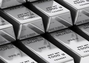 Azərbaycanda gümüş istehsalı 13 %-dən çox artıb