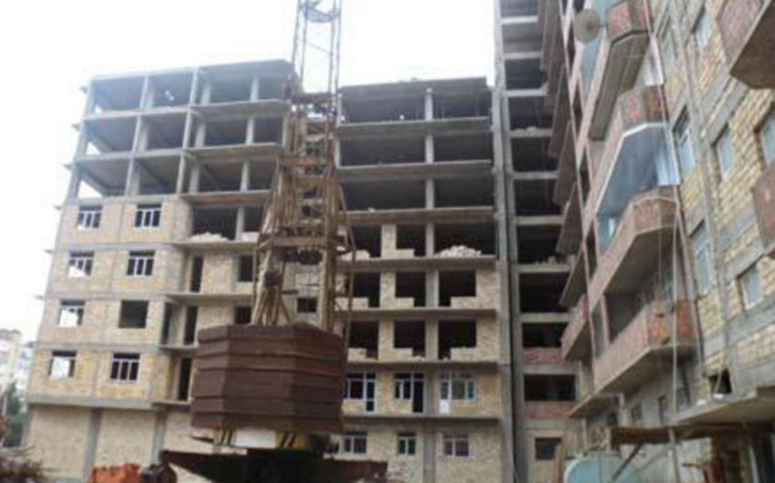 Yevlaxda 45 mənzilli yeni yaşayış binasının tikintisi məqsədilə 3 milyon manat ayrılıb
