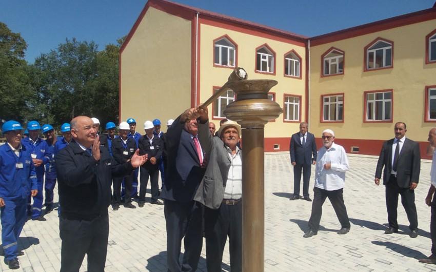 Göyçay rayonunun daha bir kəndinə təbii qaz verilib