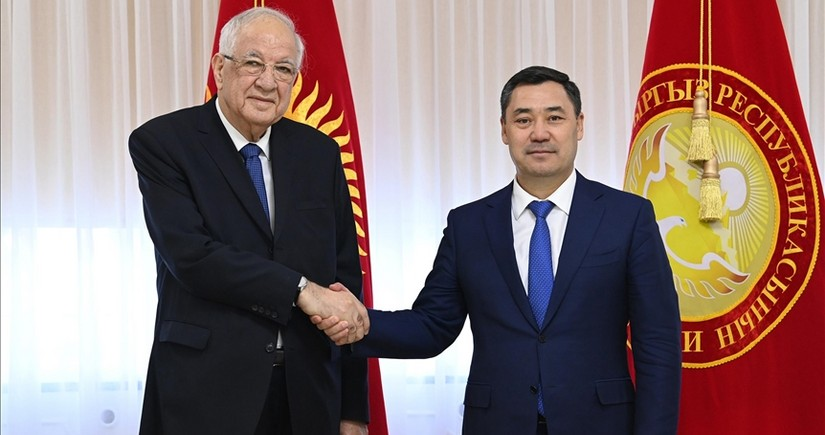 Kyrgyz president receives Azerbaijani envoy amid completion of his diplomatic mission