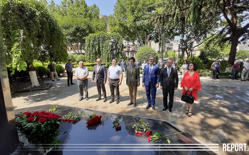 Azərbaycan diplomatları Tbilisidə peşə bayramlarını qeyd edirlər